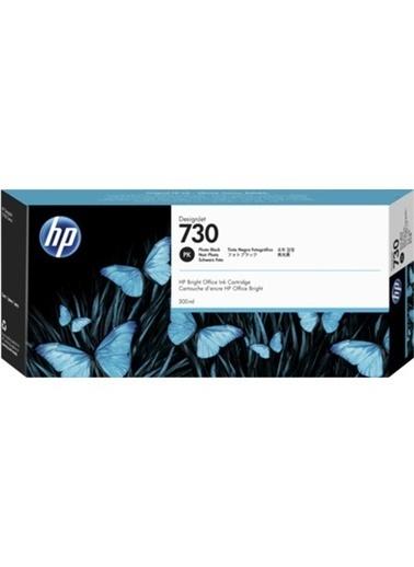 HP 730 Siyah Orijinal Mürekkep Kartuş P2V73A Siyah